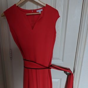 NYC dress size s fits 4 salmon red color